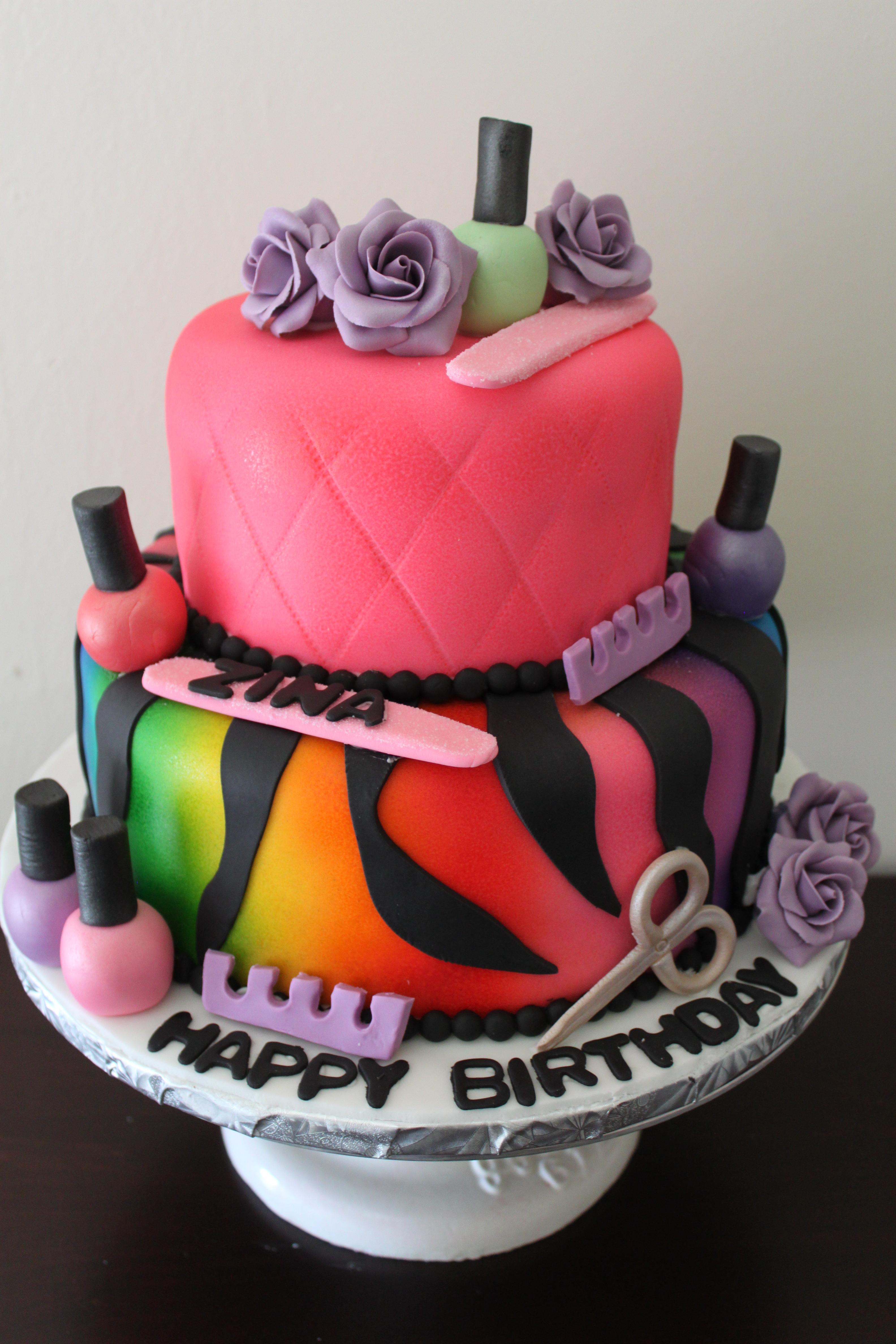 Поздравление с днем рождения для мастера маникюра