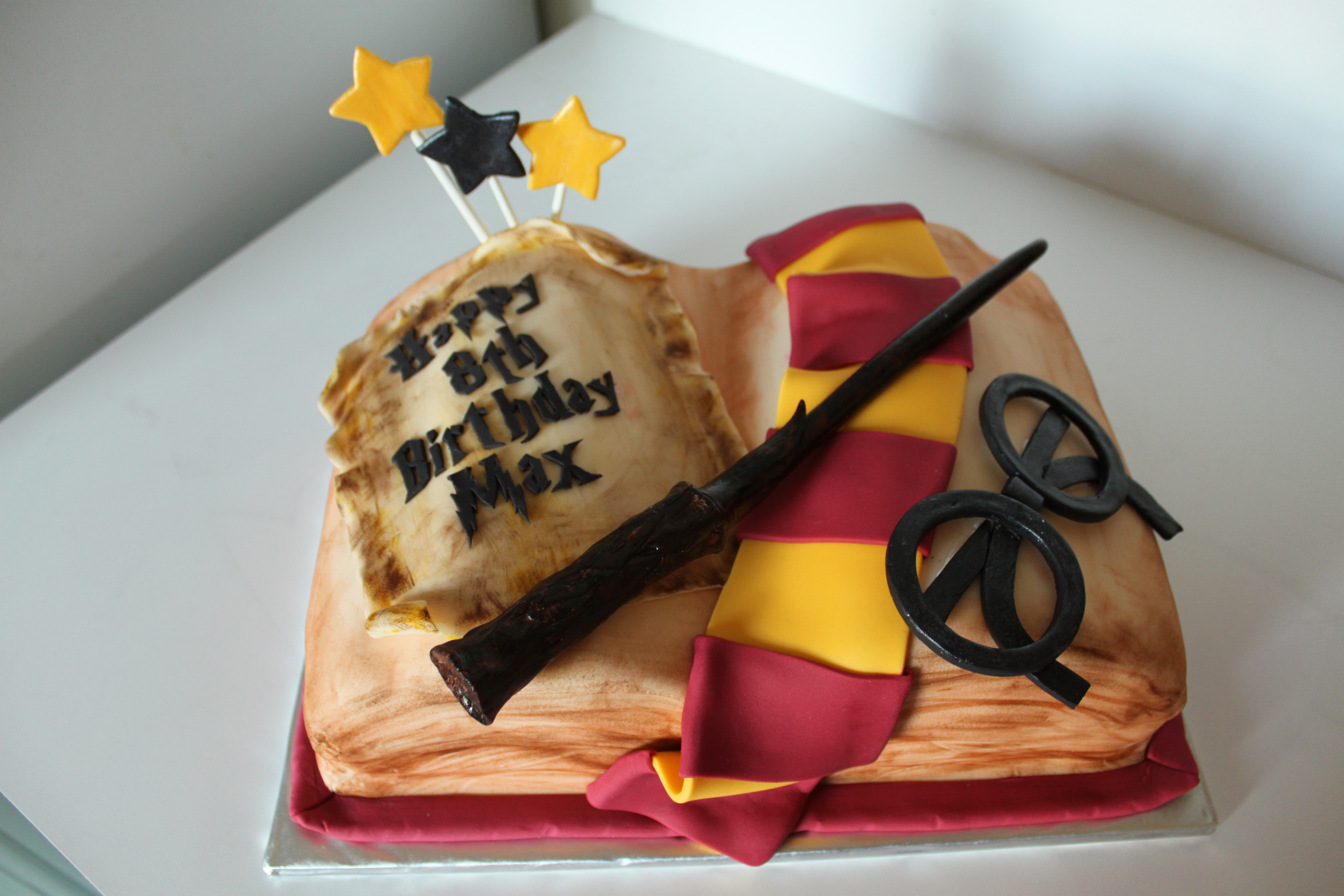 Stupendous Harry Potter Birthday Cake Lil Miss Cakes Funny Birthday Cards Online Alyptdamsfinfo