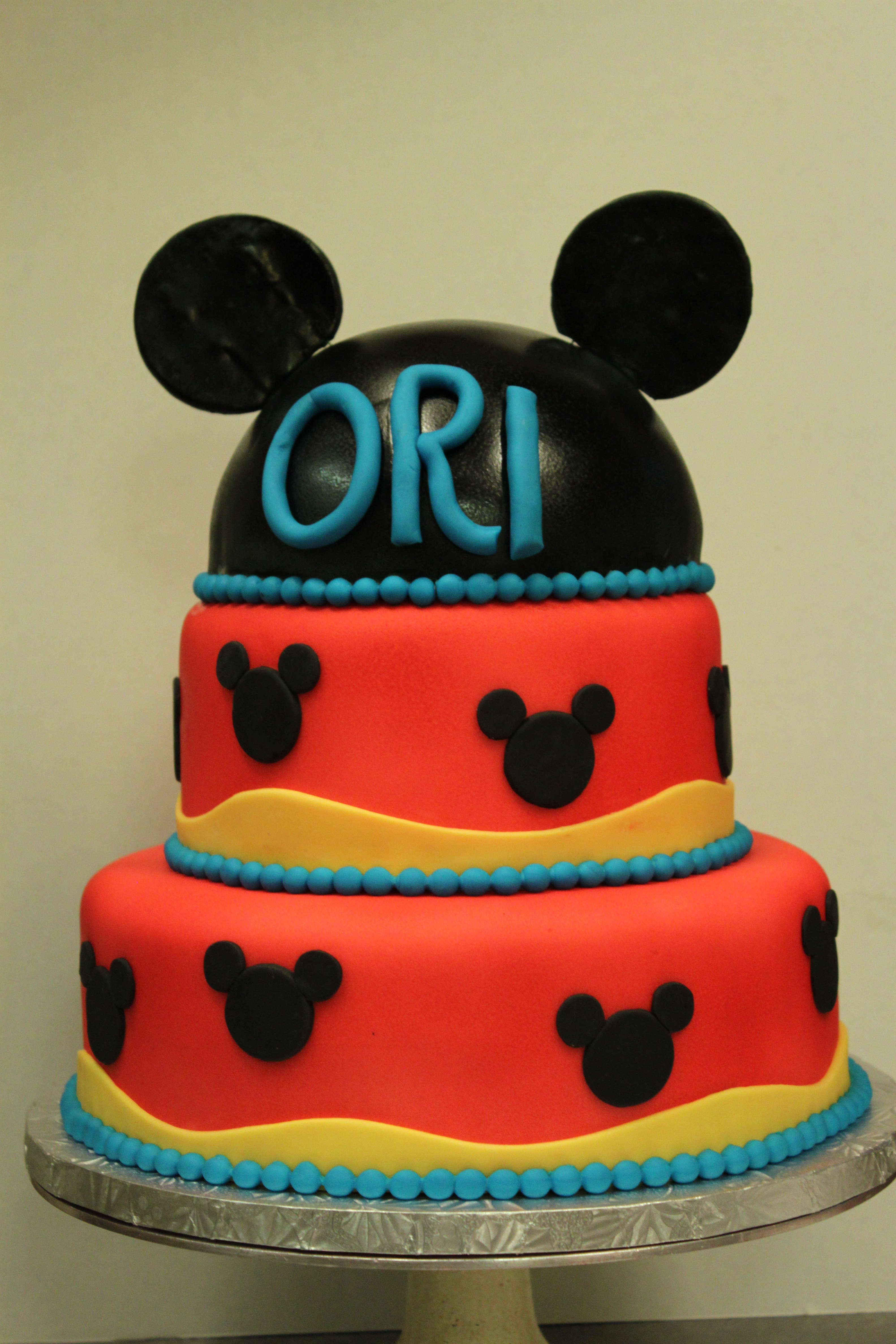Mickey Mouse Cake Lil Miss Cakes