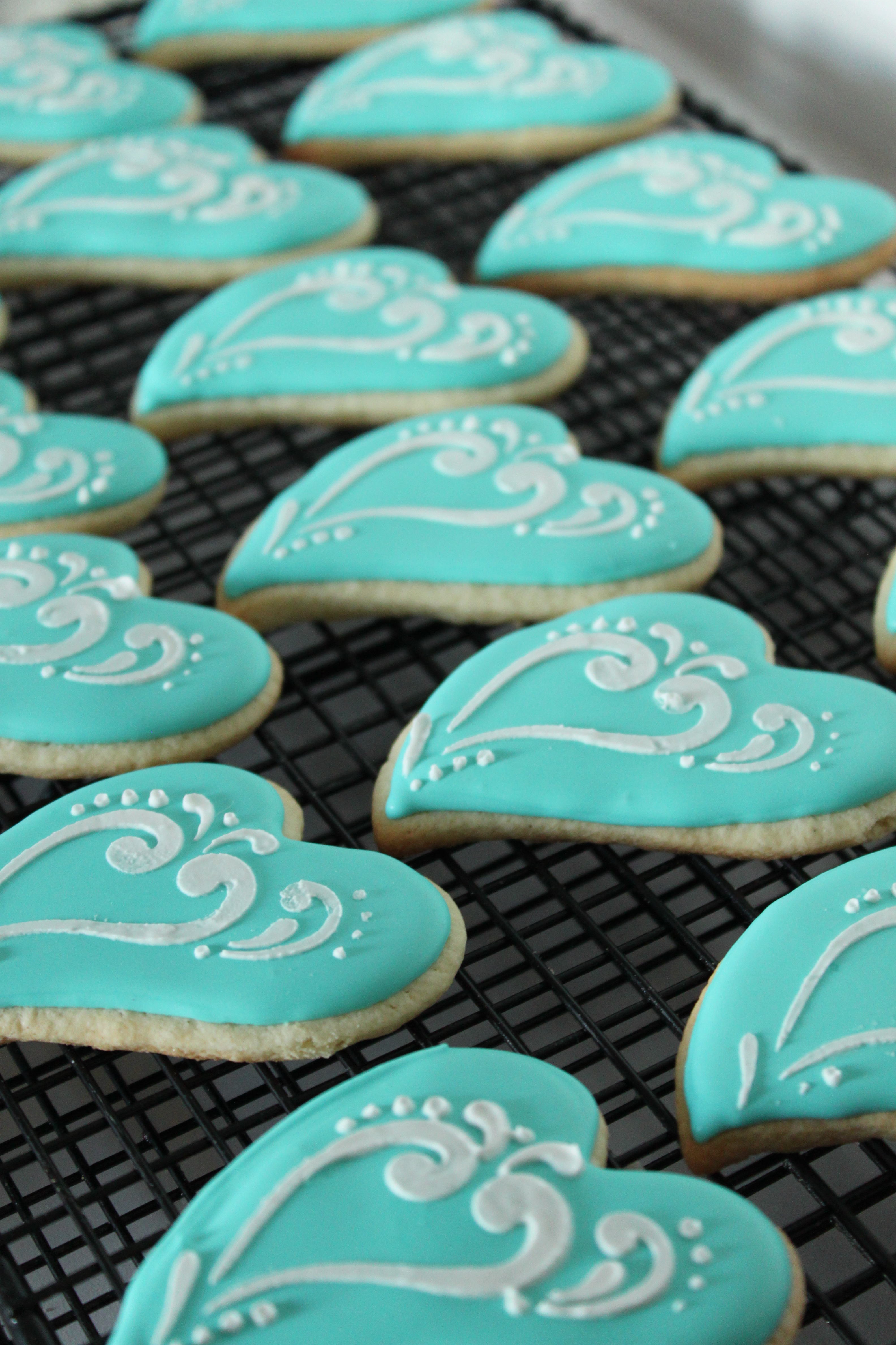 Tiffany Blue Inspired Cookies Lil Miss Cakes