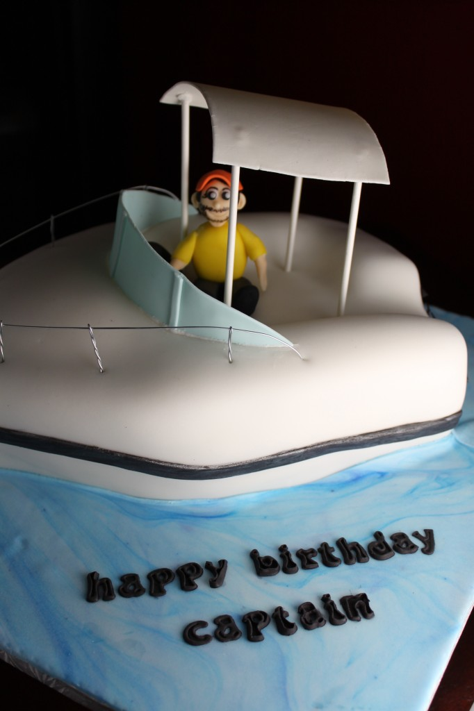 Cake Images Boat : Fishing Boat Cake Lil  Miss Cakes