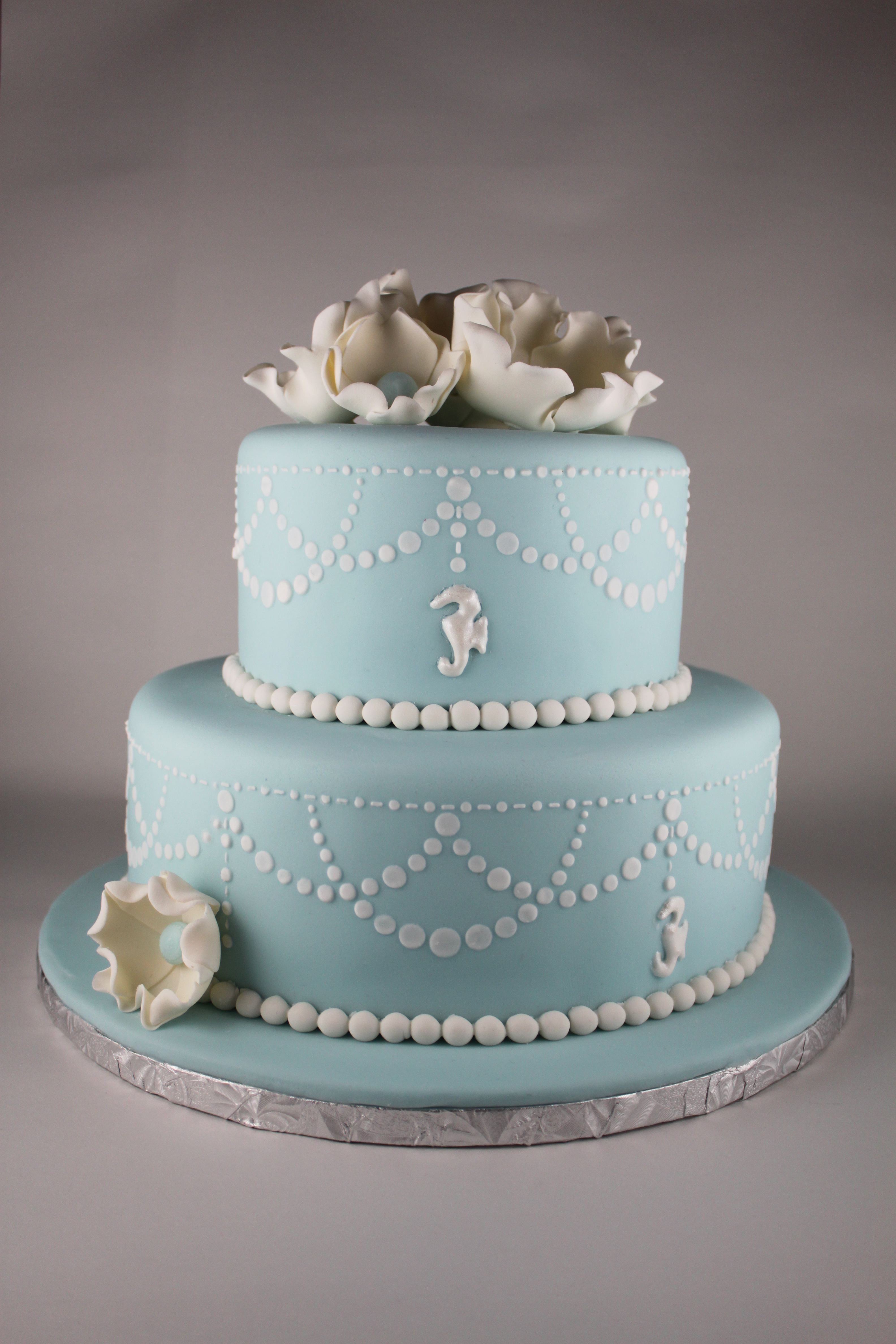 Pearl Swag Cake Lil Miss Cakes