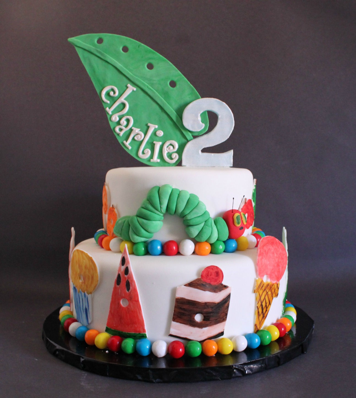 The Very Hungry Caterpillar Cake Ideas