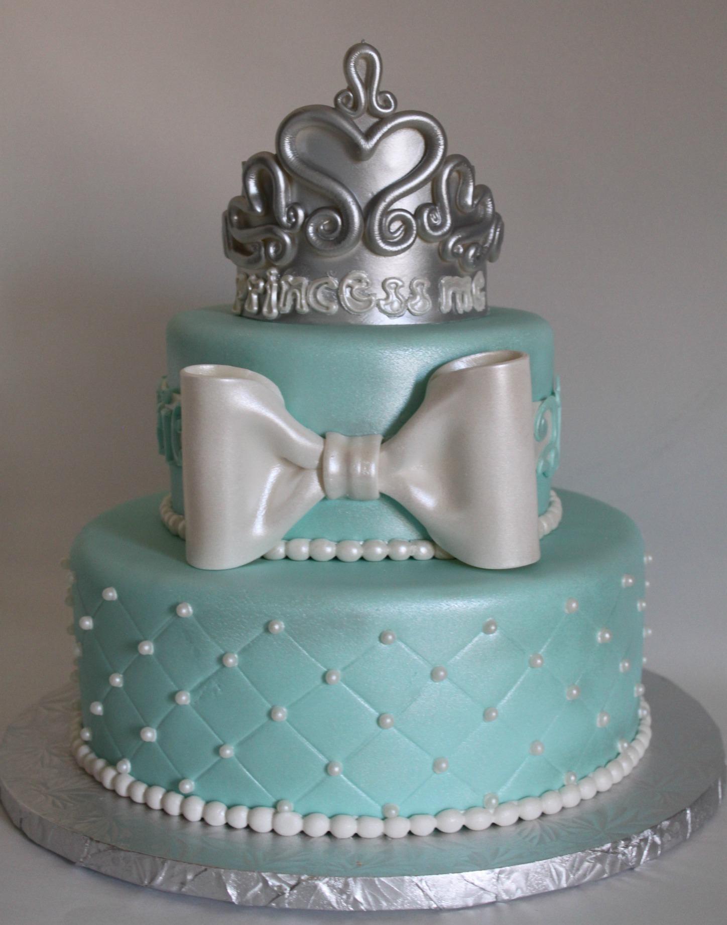 Princess Tiara Cake Lil Miss Cakes