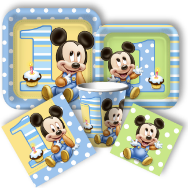 Baby Mickey First Birthday Cake Lil Miss Cakes