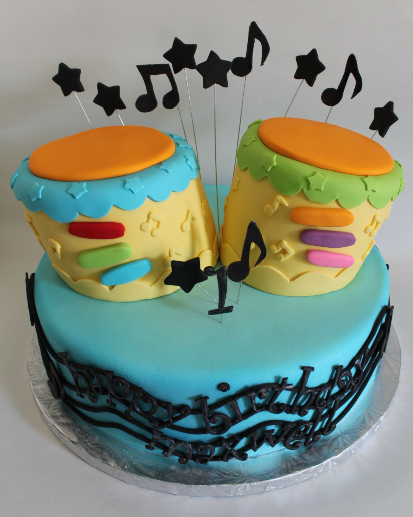 Happy Birthday Bongo Cake