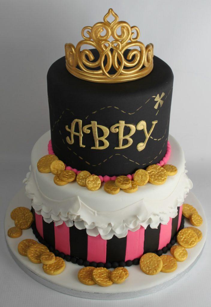 Princess Pirate Birthday Cake Lil Miss Cakes