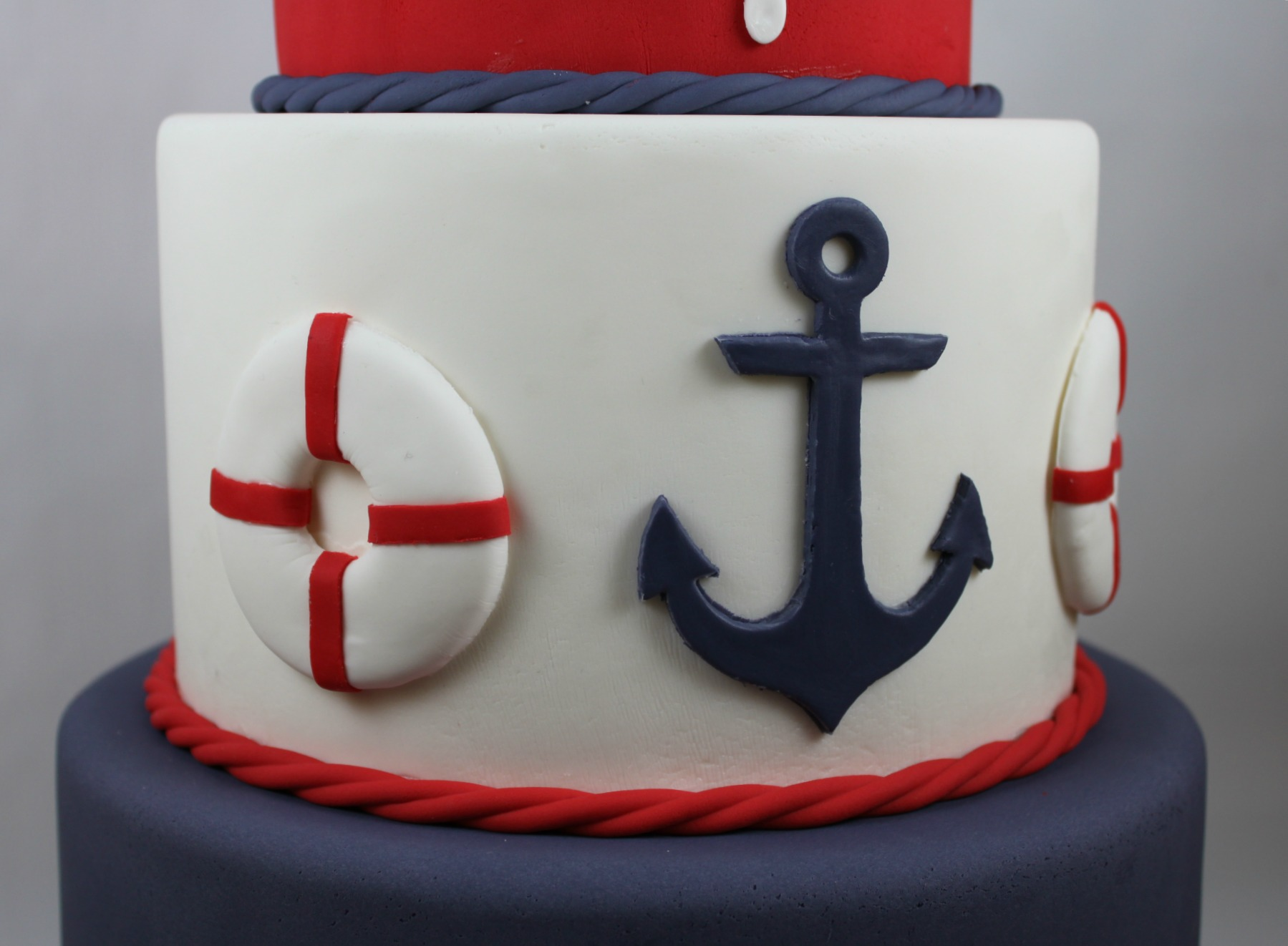 Anchor Navy Cakes