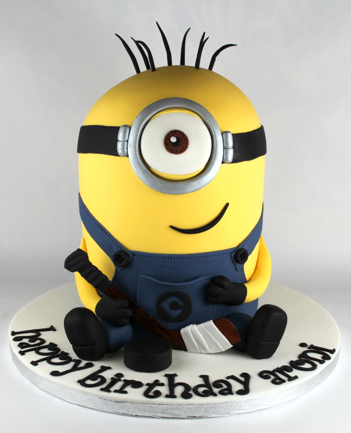 Minion Birthday Cake Lil Miss Cakes