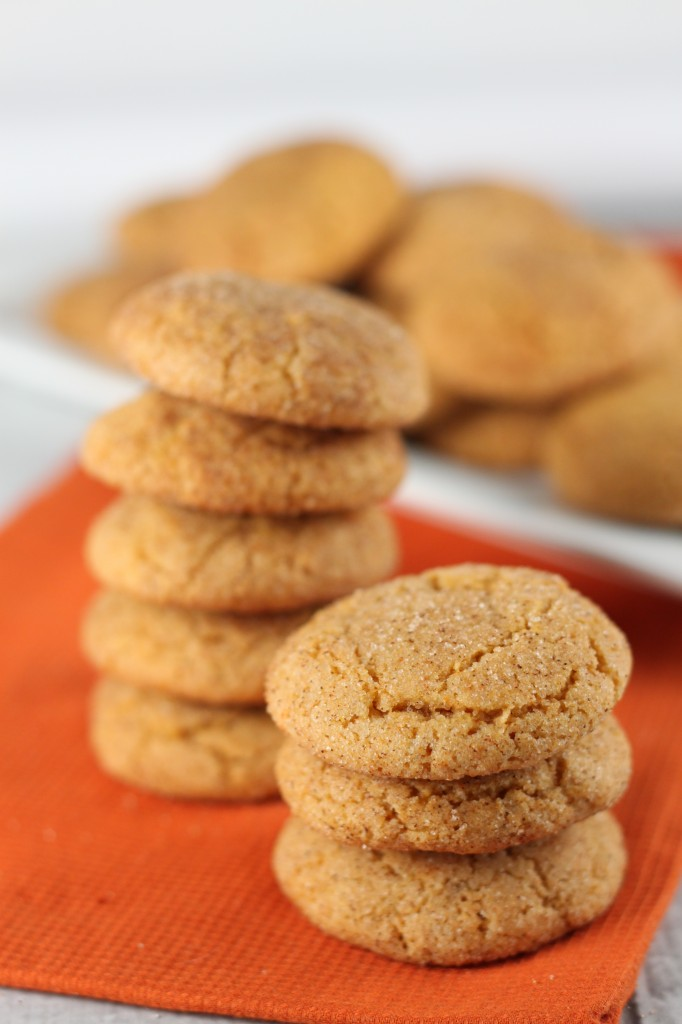 Pumpkin Spice Pudding Cookies Recipe Lil Miss Cakes