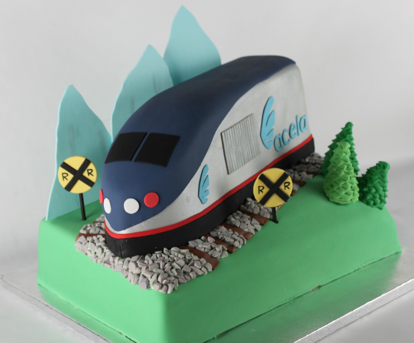 Express Train Cake Lil Miss Cakes