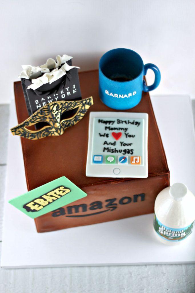 Amazon Box Birthday Cake Lil Miss Cakes