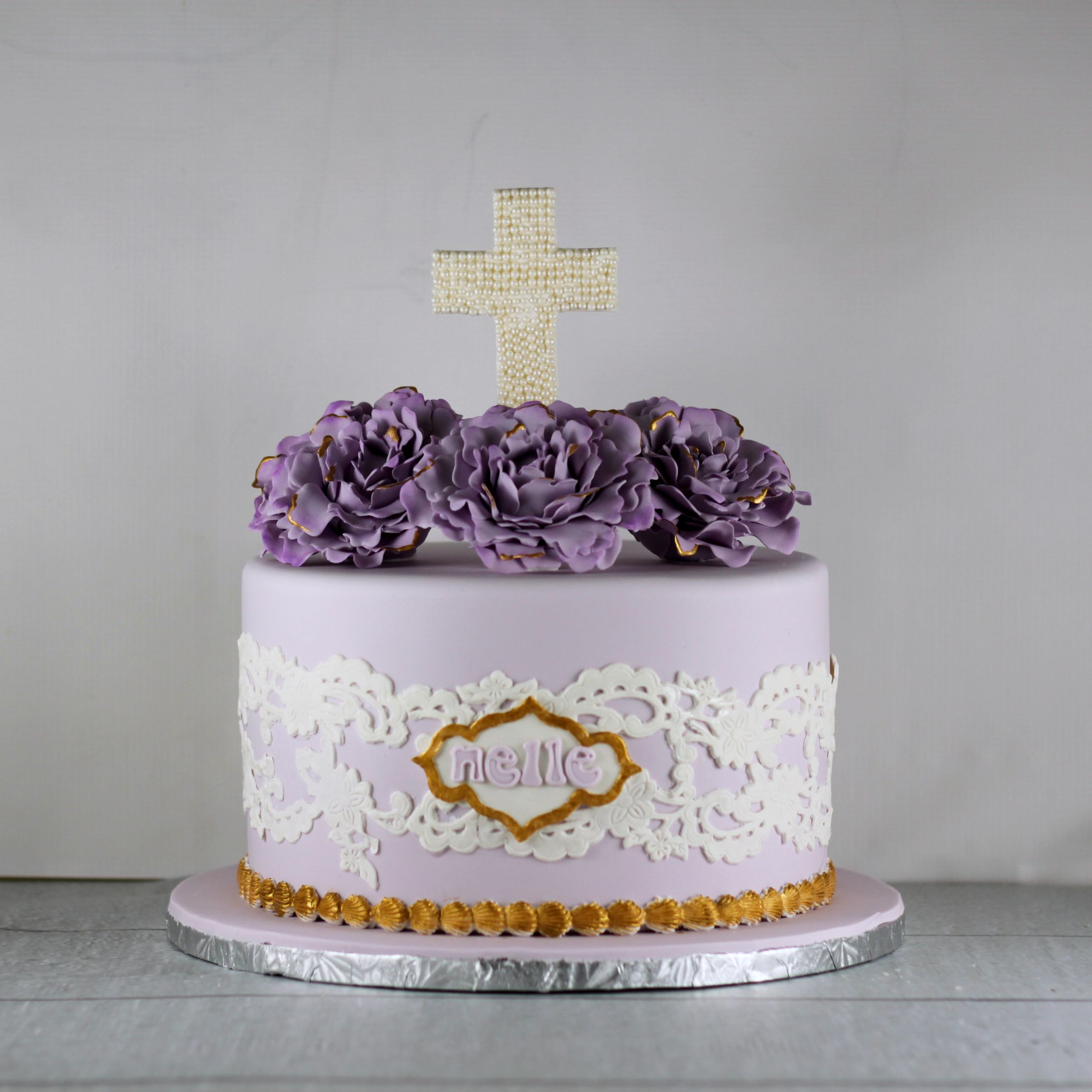 How To Make A First Communion Cake