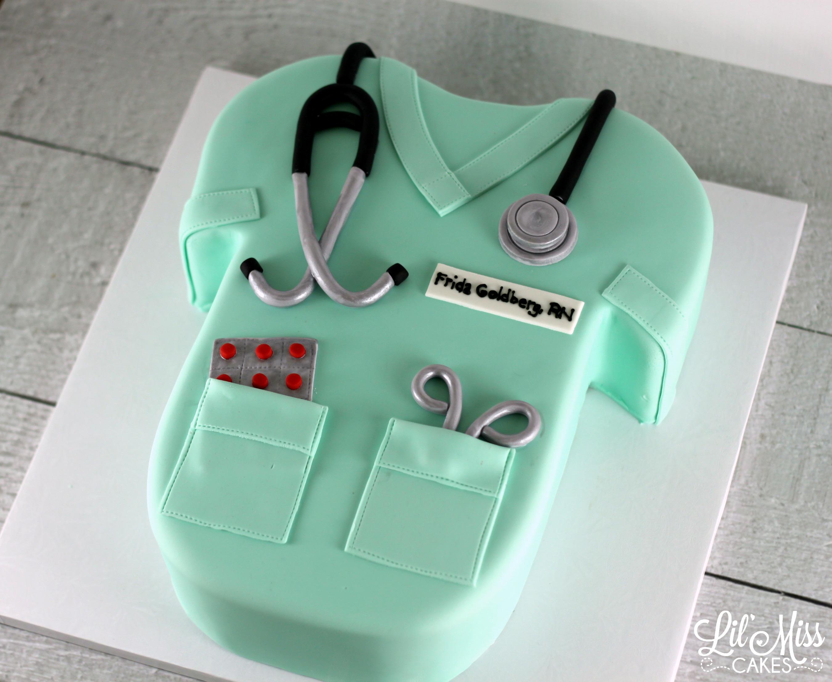 всем фото тортов для врачей этот