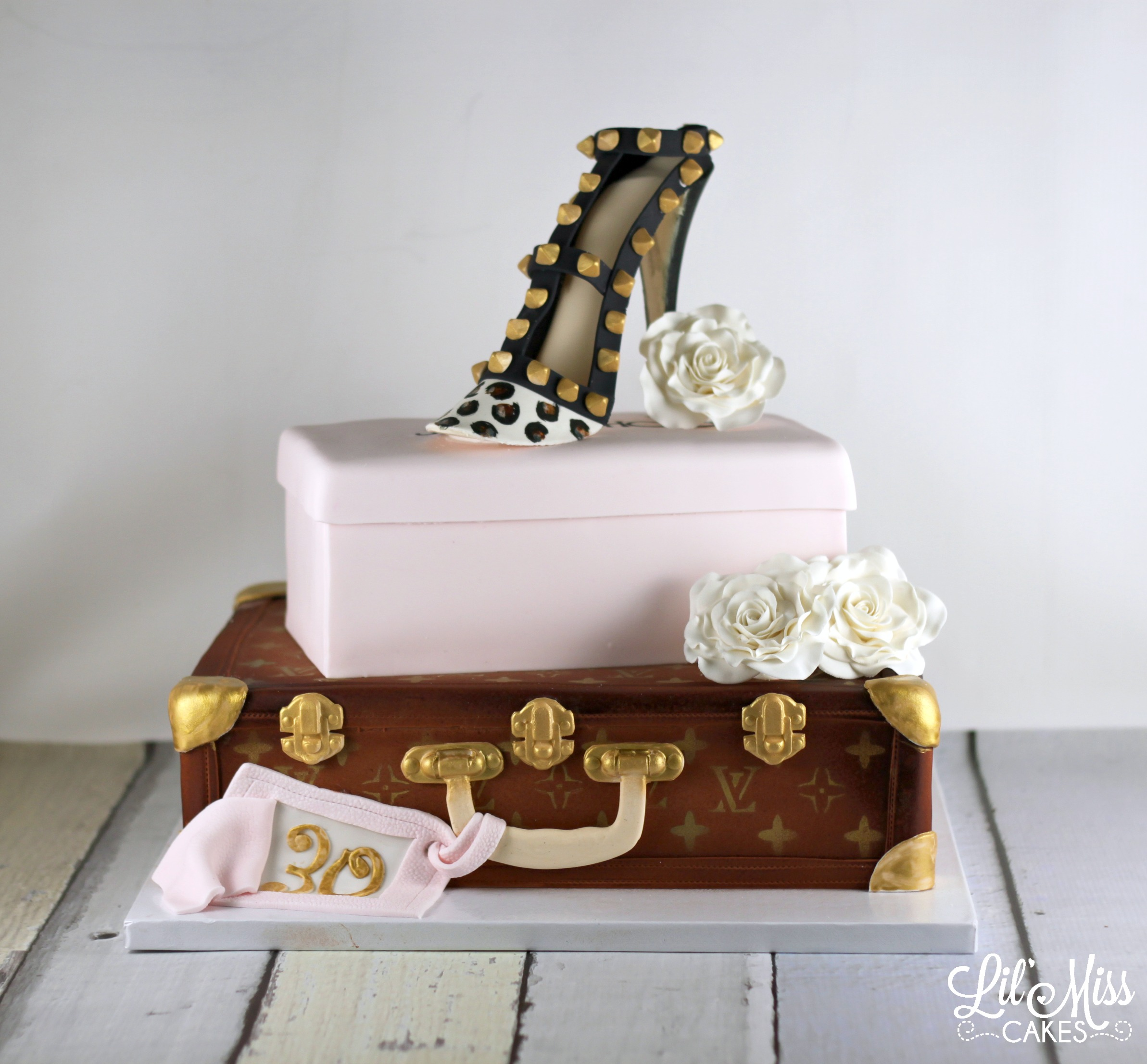 Fashion Birthday Cake | Lil' Miss Cakes