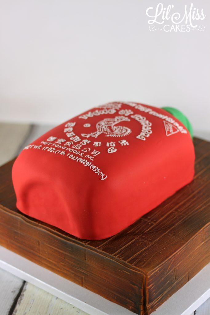 Sriracha Cake | Lil Miss Cakes