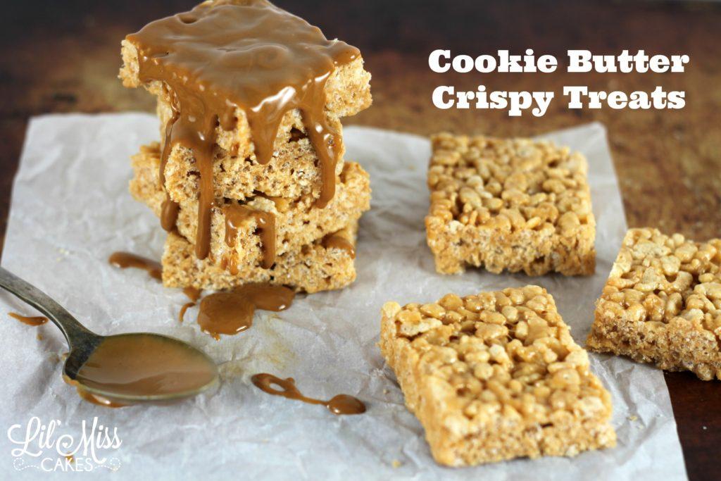 Cookie Butter Crispy Treats